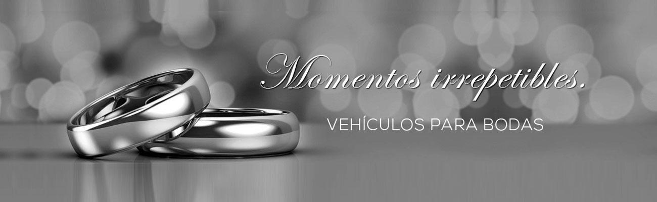 servicio de vehiculos para bodas